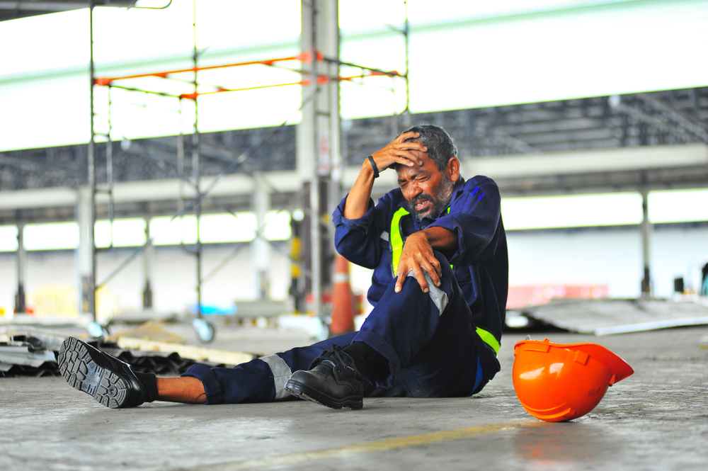 types of workplace accidents