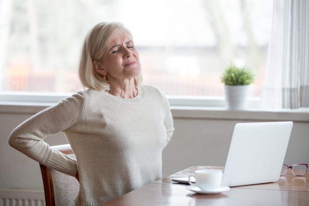 poor posture in seniors