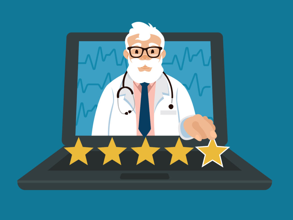 online reviews for your medical practice