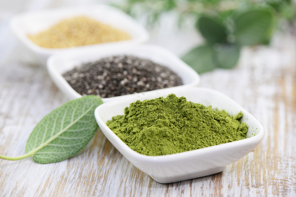 green powders as superfood