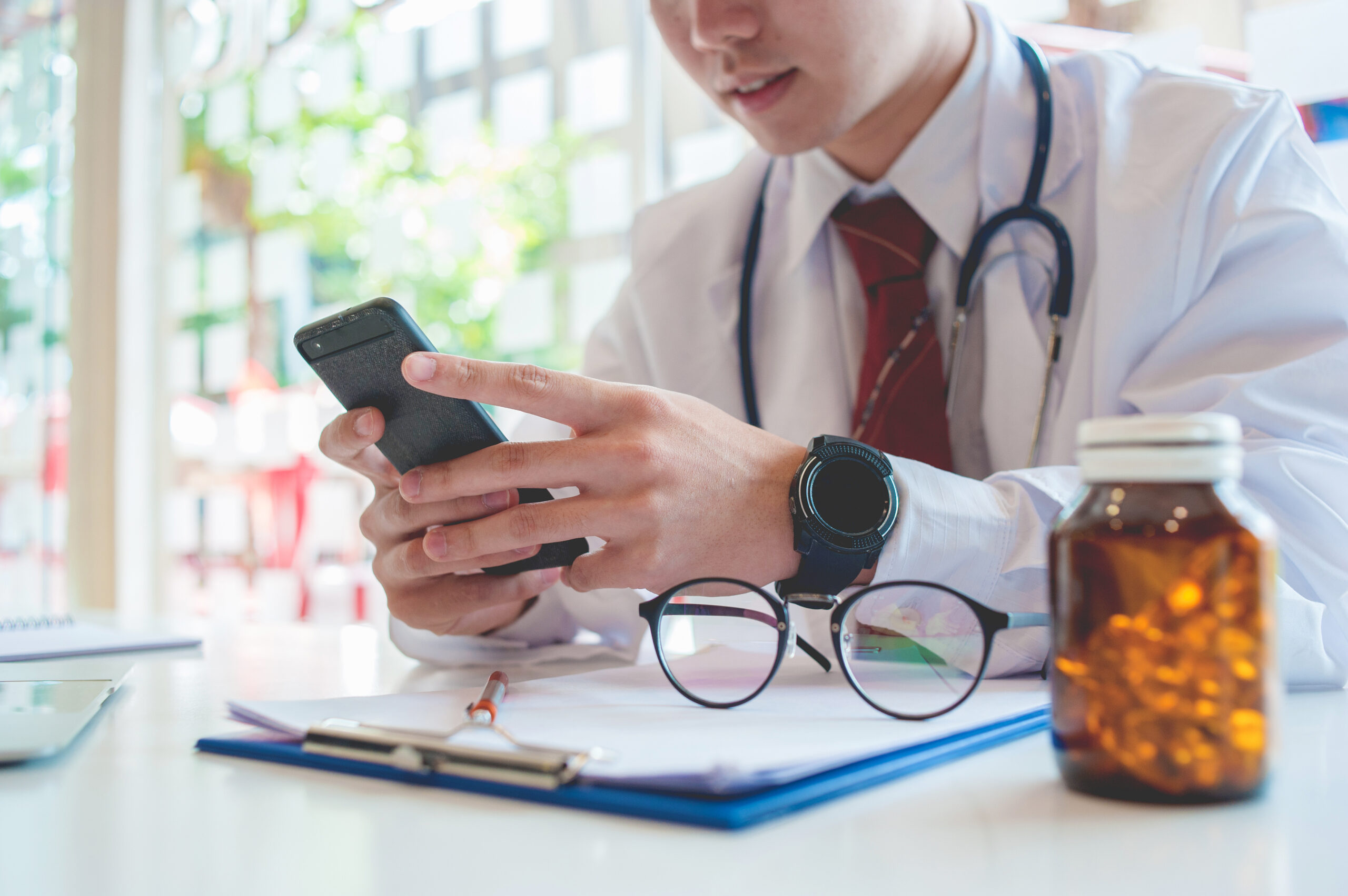 healthcare sector and text importance